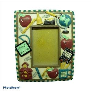 Teacher Picture Frame School